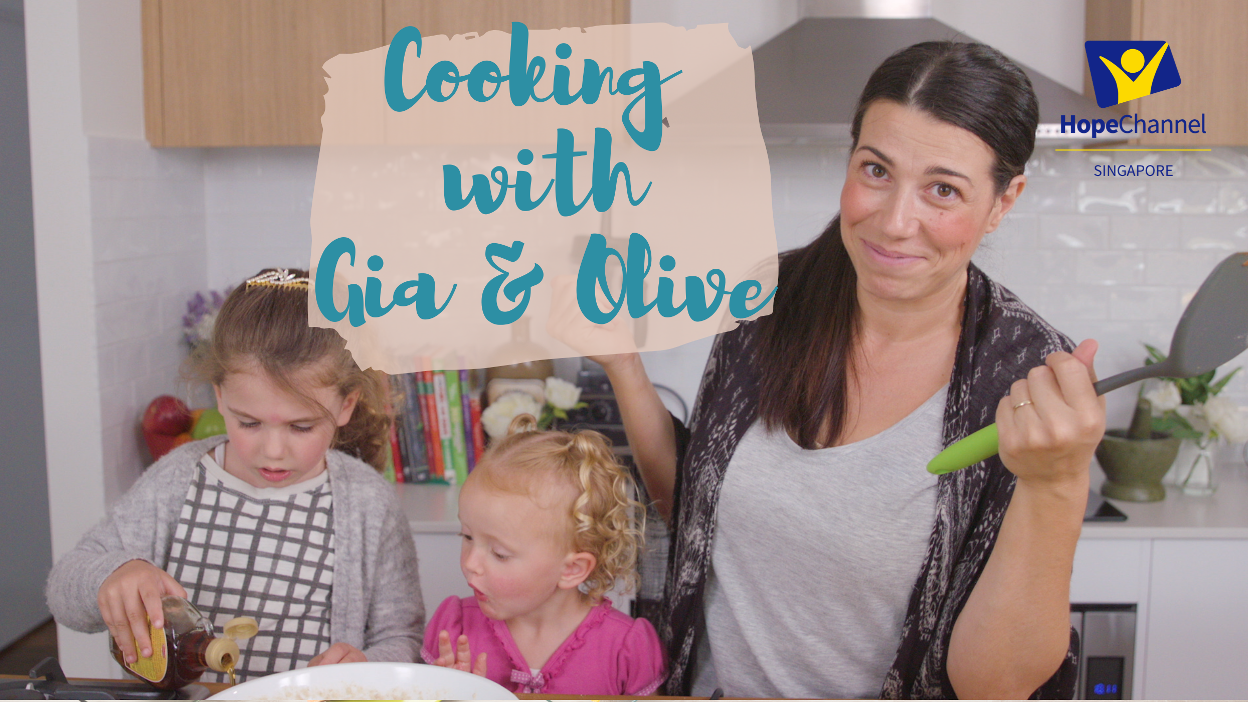Cooking with Gia & Olive